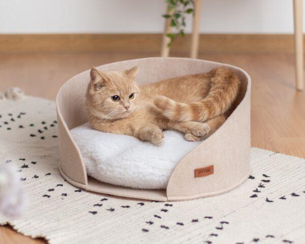 Лежанка для кошки от компании MYRR