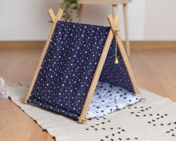 Палатка для кошки с звездами