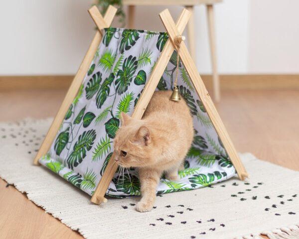 Модный домик для кошки