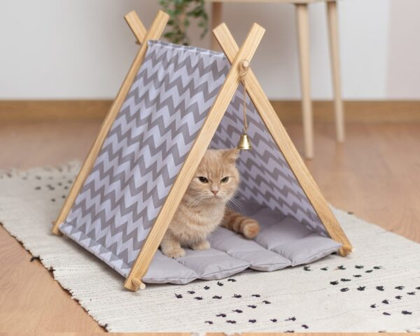 Домик палатка для кошки